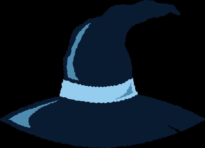 Иллюстрация шляпа ведьмы в стиле  в PNG и SVG | Icons8 Иллюстрации