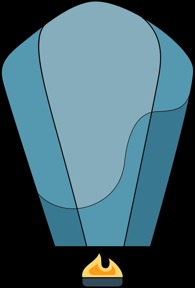 sky lantern Clipart illustration in PNG, SVG