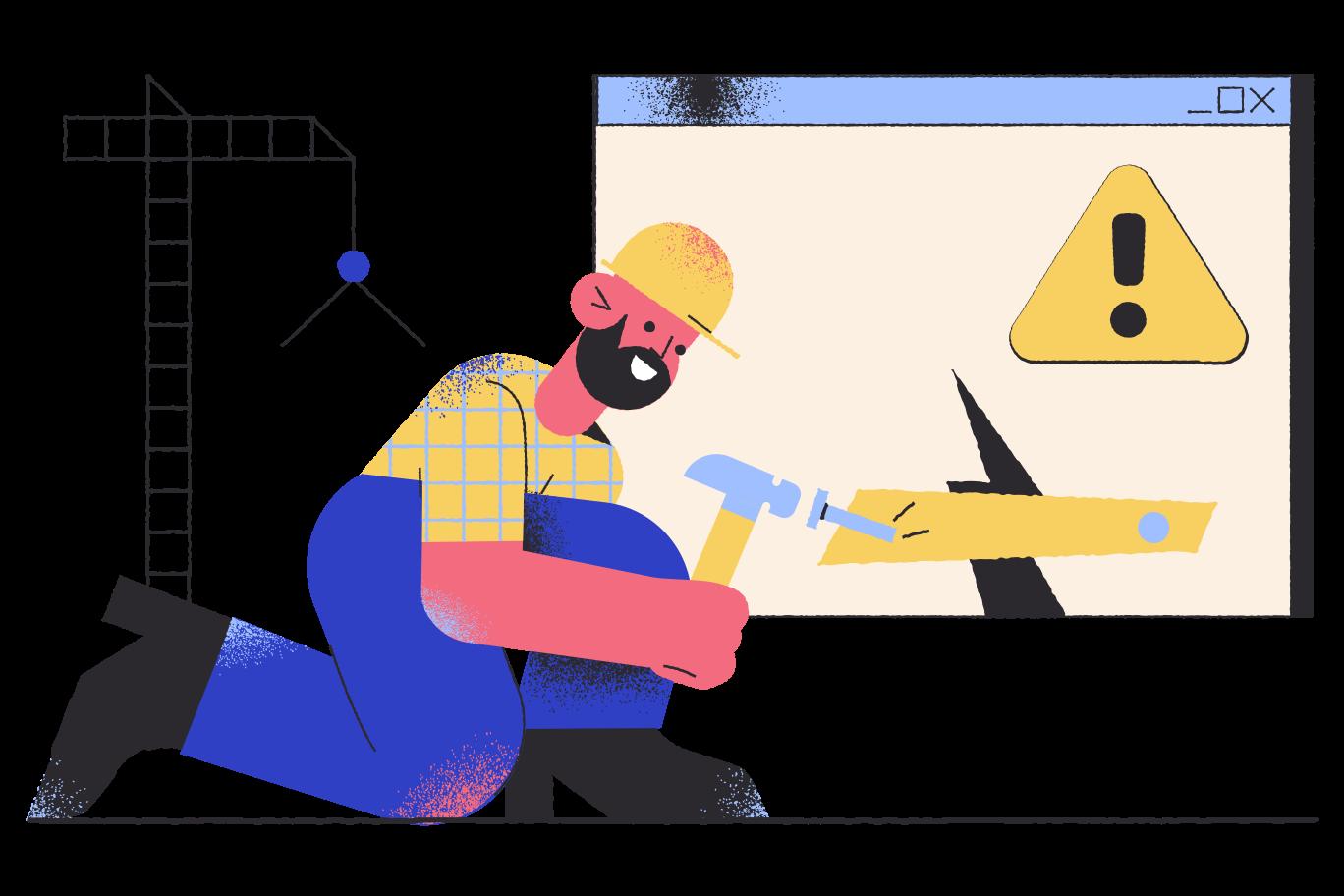 Imágenes vectoriales Pagina en construcción en PNG y SVG estilo    Ilustraciones Icons8