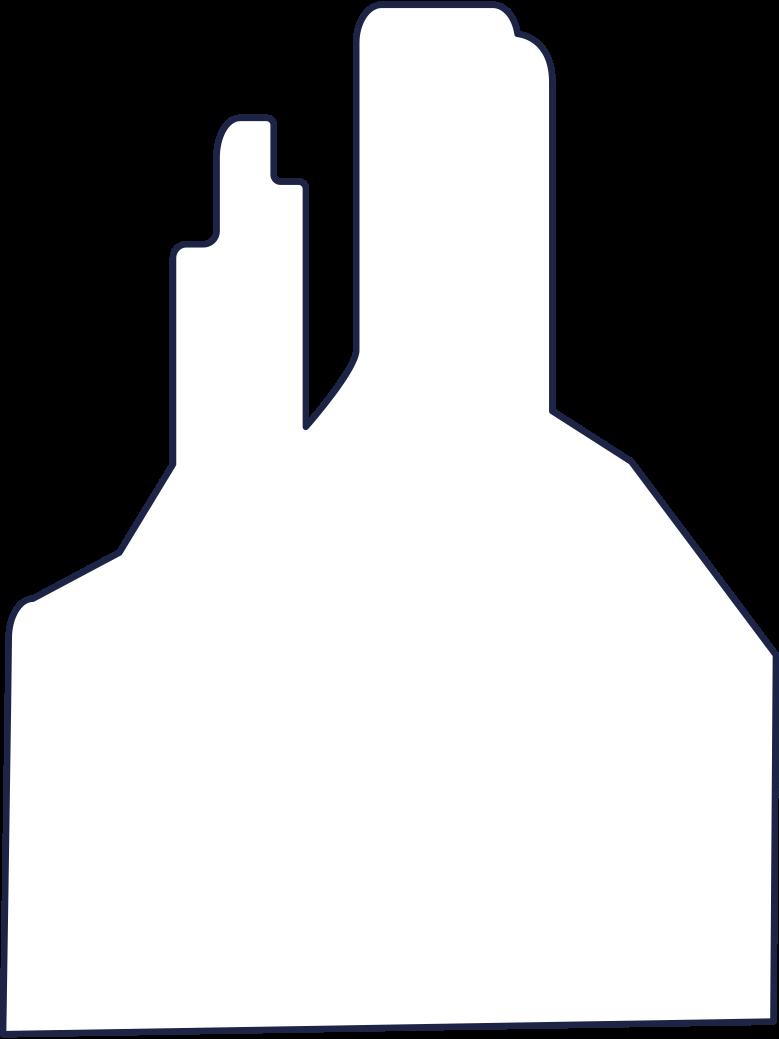 desert rock 2 line Clipart illustration in PNG, SVG