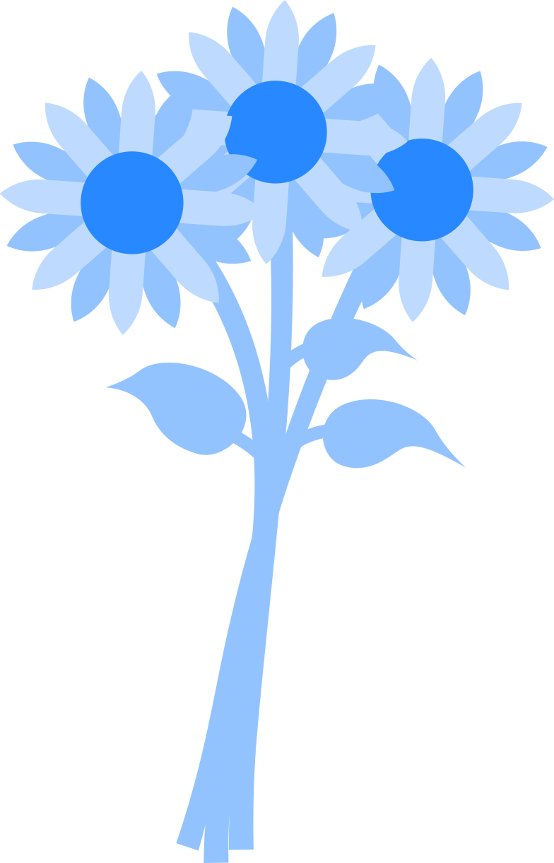 bouquet of flowers Clipart illustration in PNG, SVG