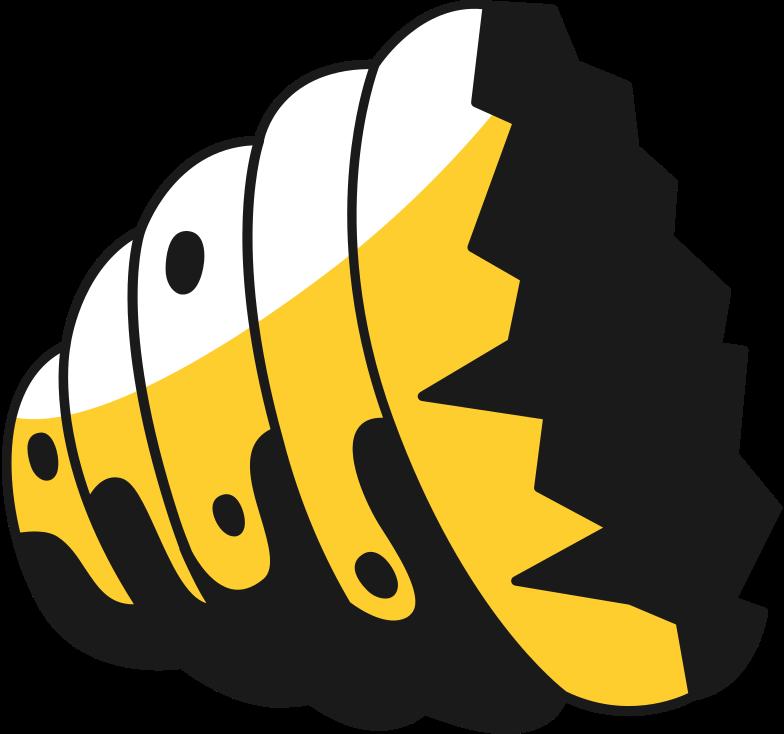 broken hive lower half Clipart illustration in PNG, SVG