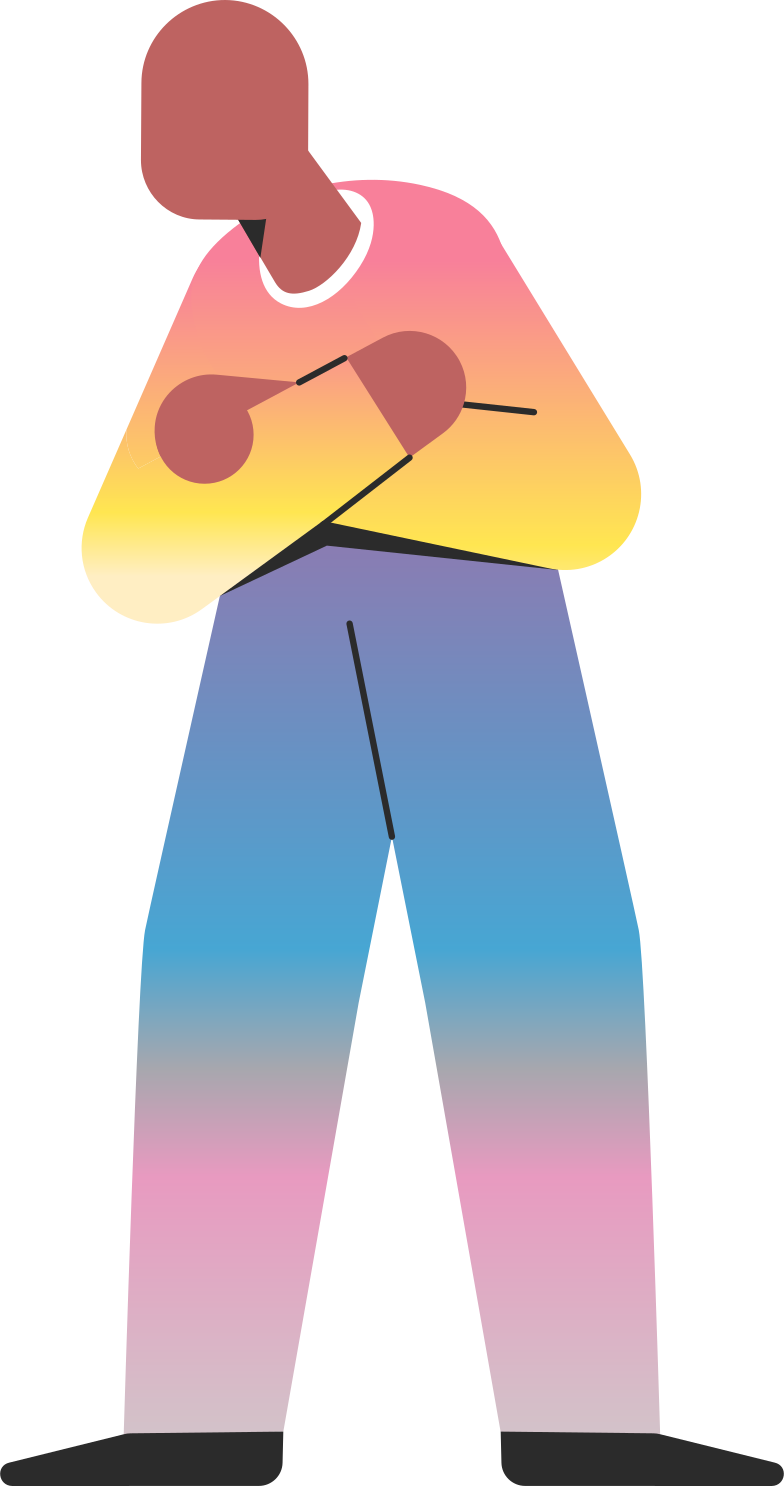 old standing Clipart illustration in PNG, SVG