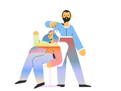 style Barber images in PNG and SVG | Icons8 Illustrations