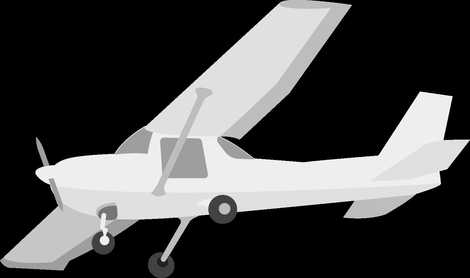 Flugzeug Clipart-Grafik als PNG, SVG