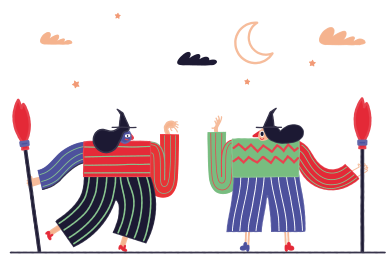 style Coven of Witches images in PNG and SVG | Icons8 Illustrations