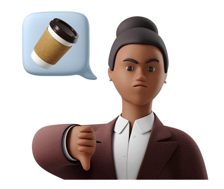 Tasteless coffee Clipart illustration in PNG, SVG