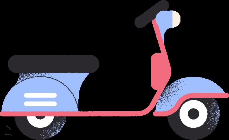 motobike Clipart illustration in PNG, SVG