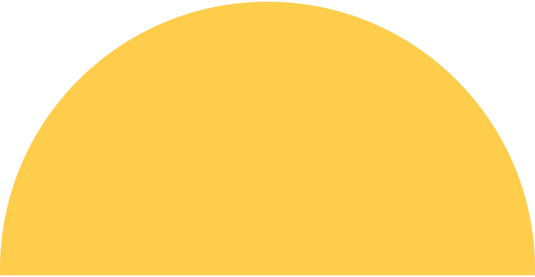 semicircle-yellow Clipart illustration in PNG, SVG