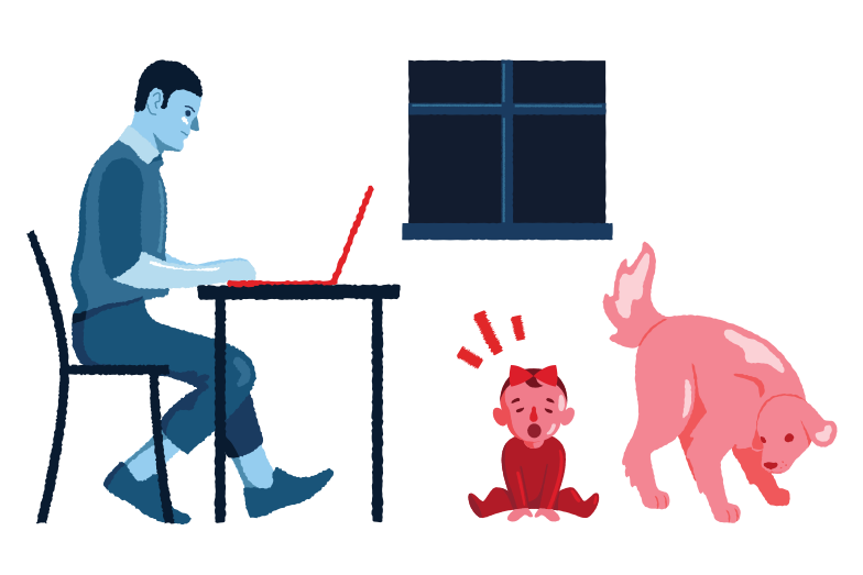 style Working from home Vector images in PNG and SVG | Icons8 Illustrations