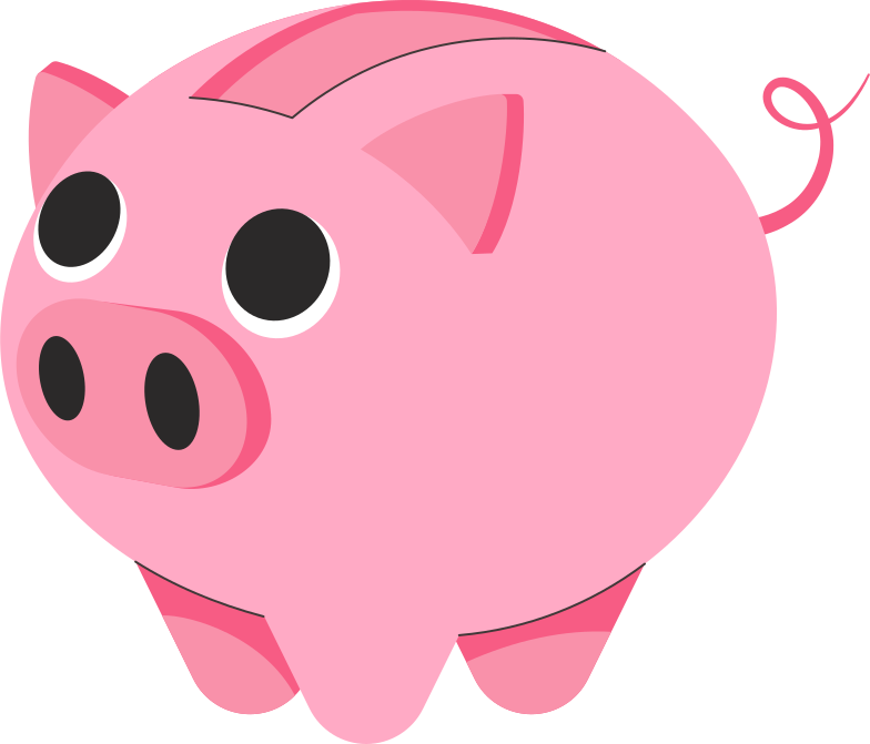style piggy bank Vector images in PNG and SVG | Icons8 Illustrations