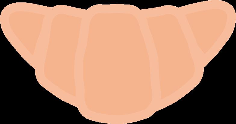 croissant Clipart illustration in PNG, SVG