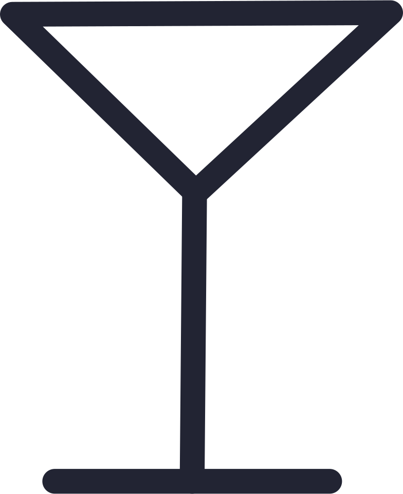 cocktail glass Clipart illustration in PNG, SVG