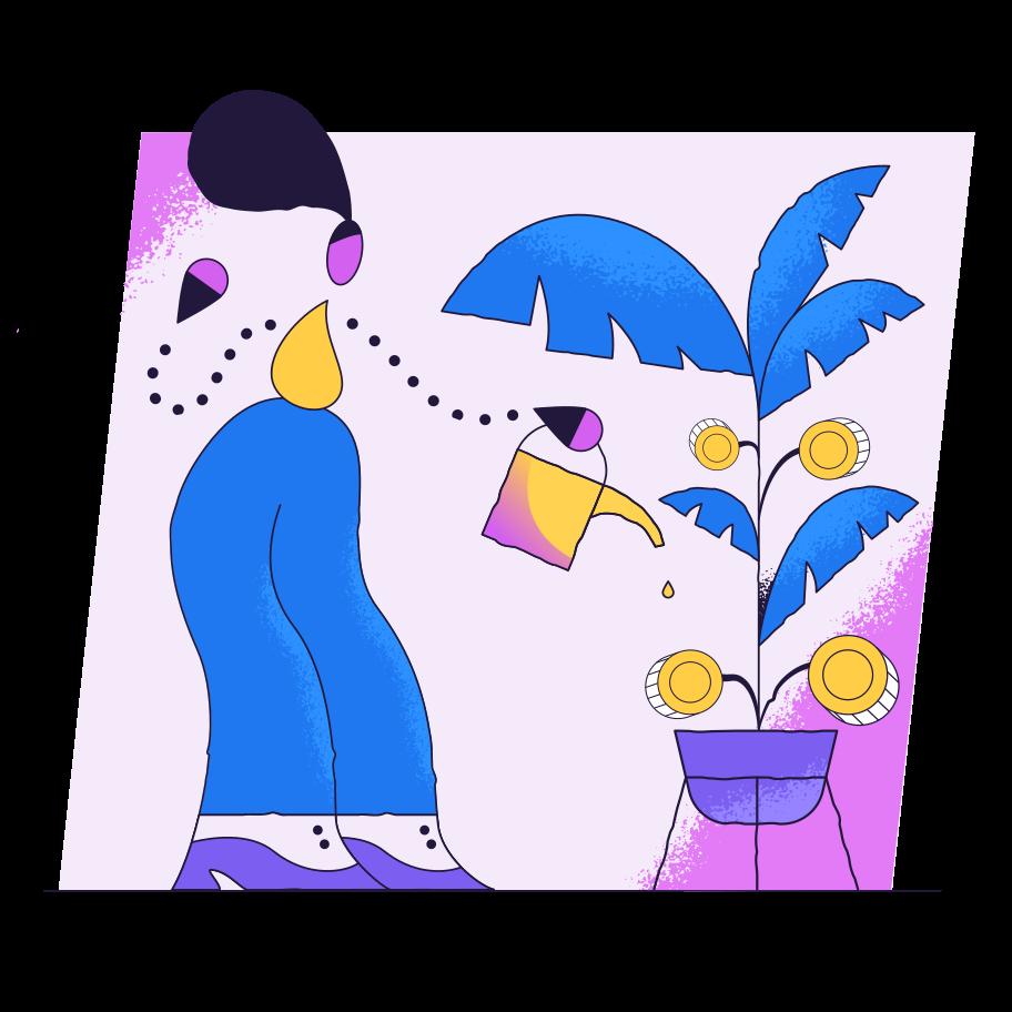Imágenes vectoriales Invertir en PNG y SVG estilo  | Ilustraciones Icons8