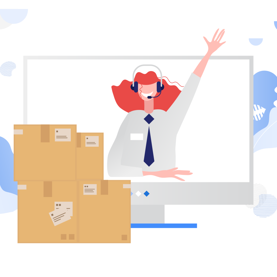 delivery service Clipart illustration in PNG, SVG