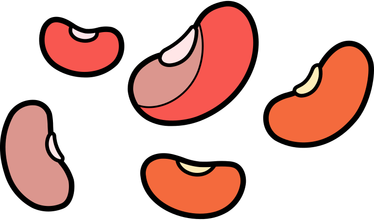 beans Clipart illustration in PNG, SVG