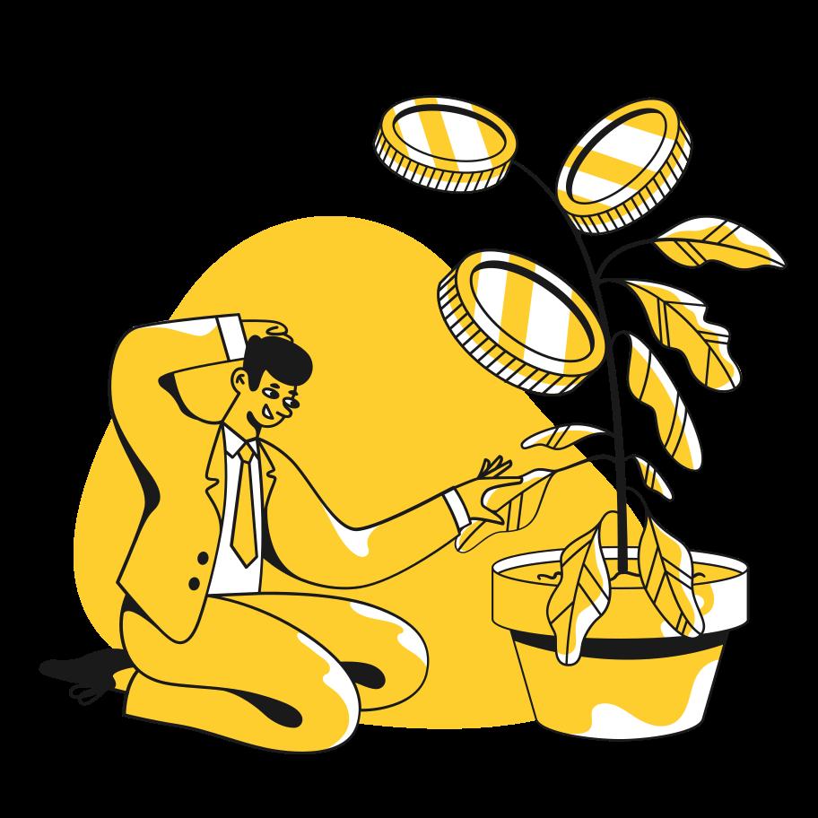 Money care Clipart illustration in PNG, SVG