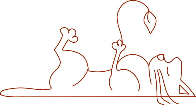 i remote work cat with flower Clipart illustration in PNG, SVG