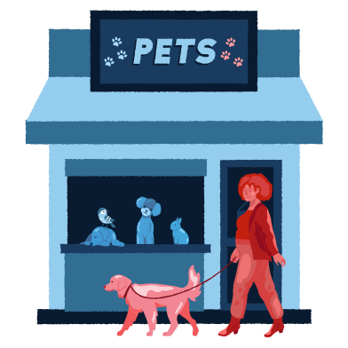 style Pets shop images in PNG and SVG | Icons8 Illustrations