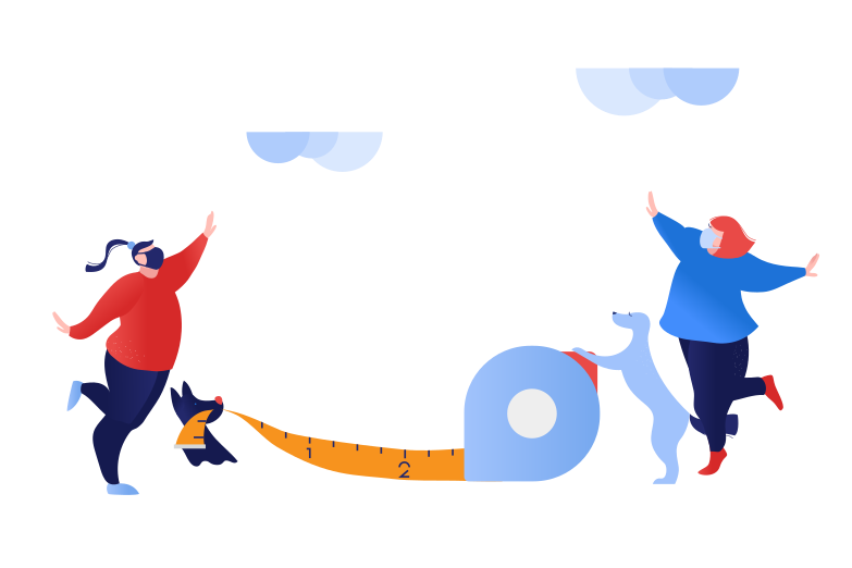 Social Distancing Coronavirus Clipart illustration in PNG, SVG