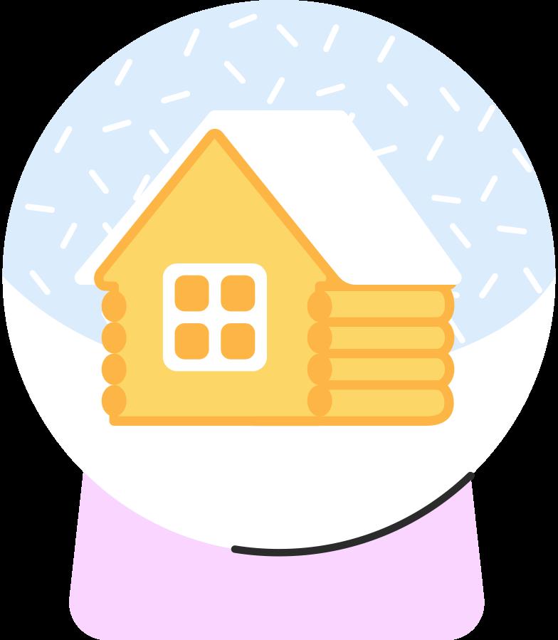 Imágenes vectoriales Globo de nieve en PNG y SVG estilo  | Ilustraciones Icons8