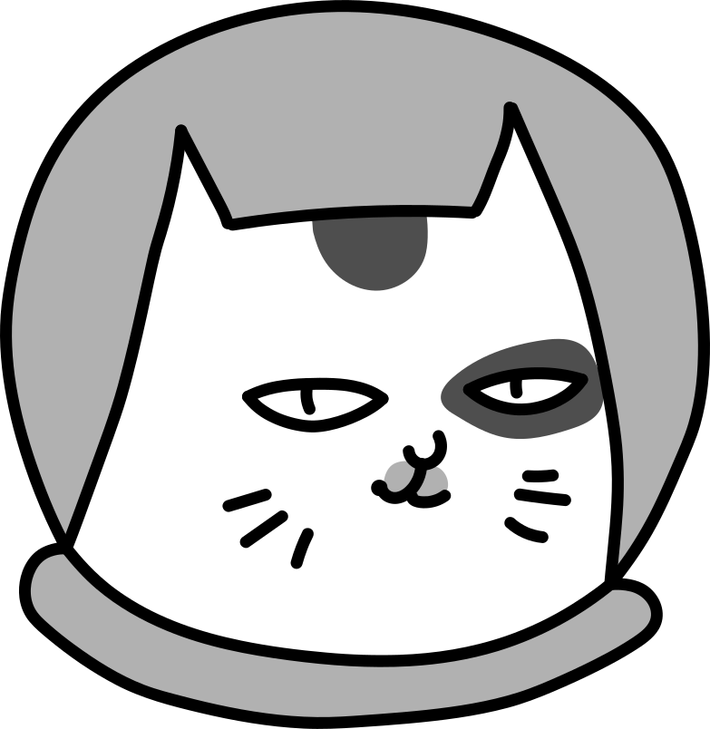 half cat with an aquarium Clipart illustration in PNG, SVG