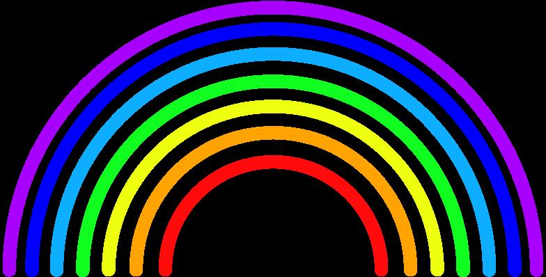 Imágenes vectoriales r arcoiris en PNG y SVG estilo  | Ilustraciones Icons8