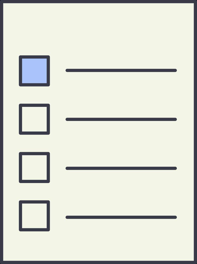 paper list Clipart illustration in PNG, SVG