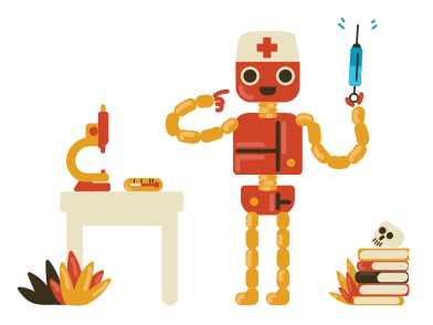 style Robot médical images in PNG and SVG | Icons8 Illustrations