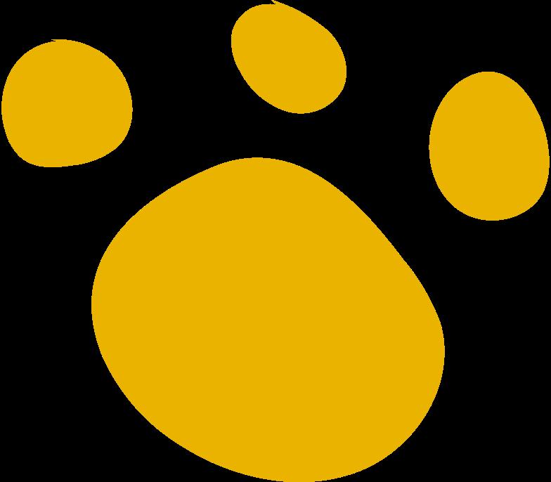 print dog trail Clipart illustration in PNG, SVG