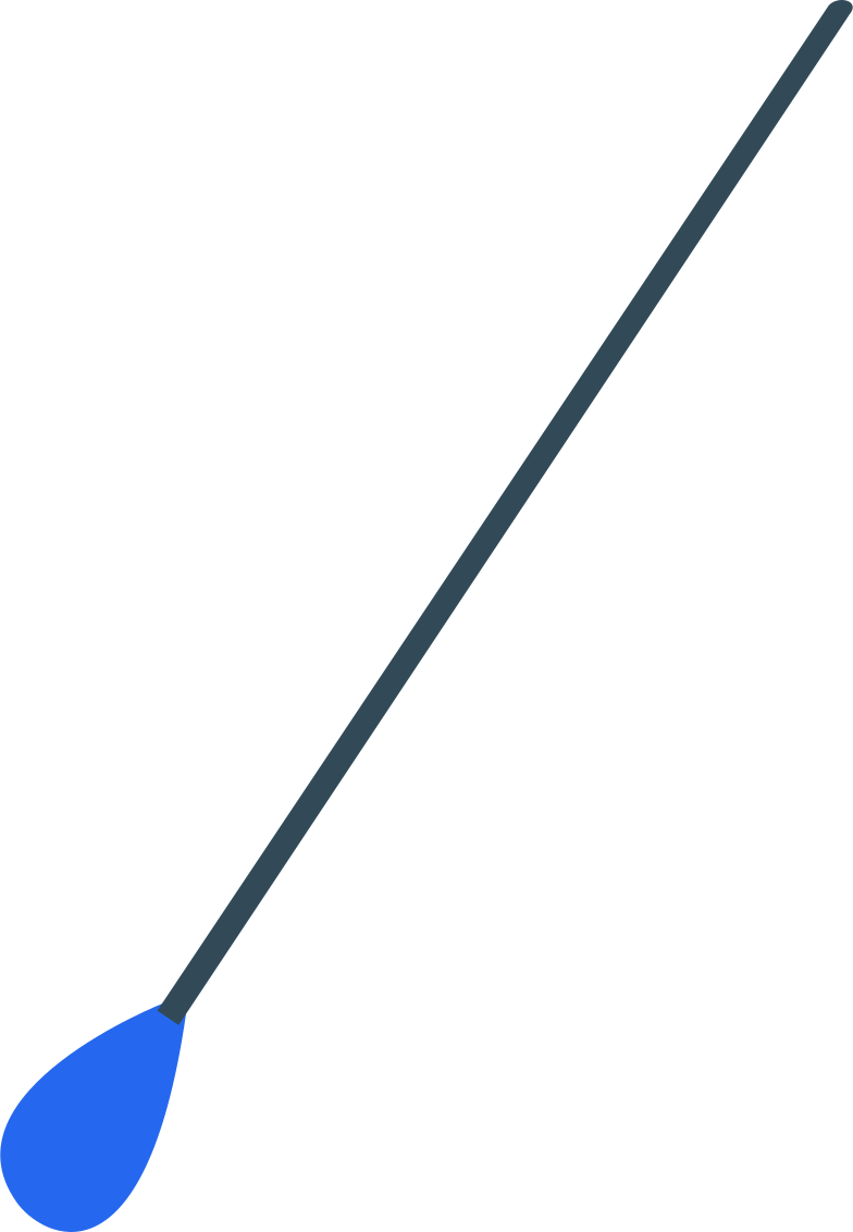 cotton swab Clipart illustration in PNG, SVG
