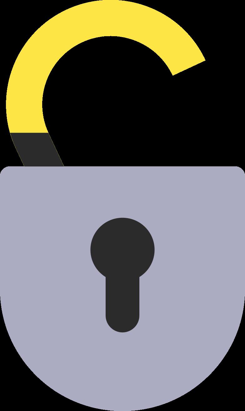 unlocked Clipart illustration in PNG, SVG