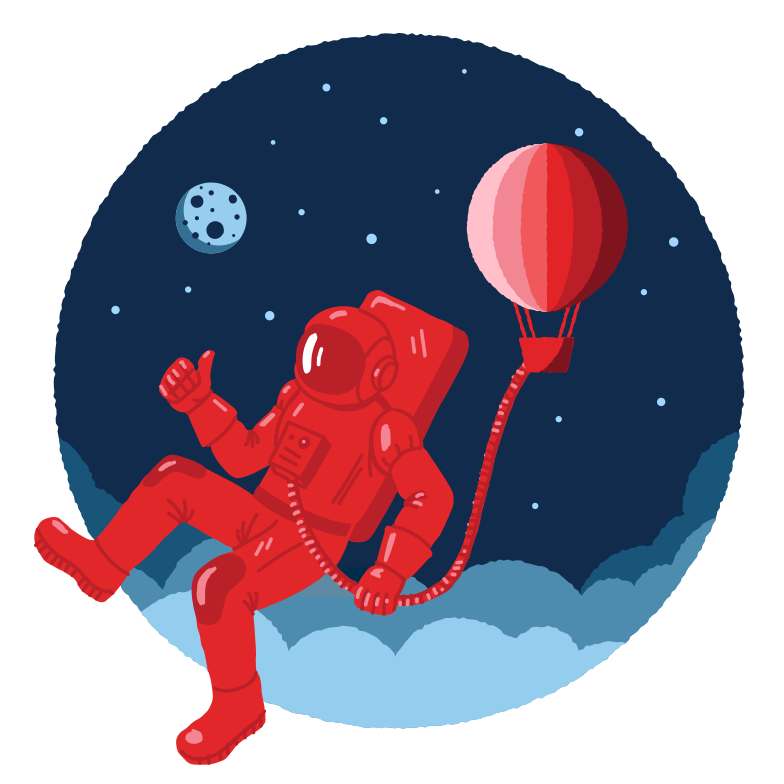 style Unusual space traveller Vector images in PNG and SVG | Icons8 Illustrations