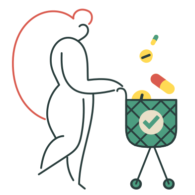 style Buying pills images in PNG and SVG | Icons8 Illustrations