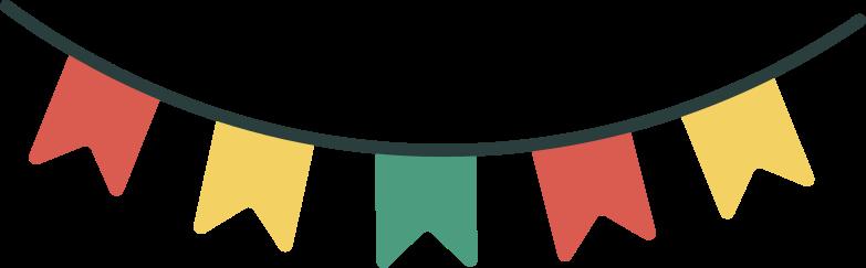 girlande Clipart-Grafik als PNG, SVG
