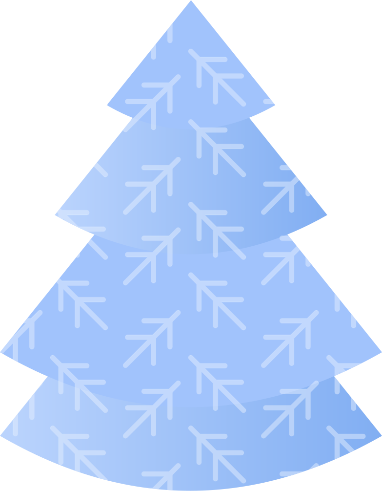 big christmas tree Clipart illustration in PNG, SVG