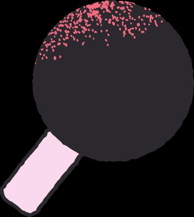 Иллюстрация теннисная ракета в стиле  в PNG и SVG | Icons8 Иллюстрации