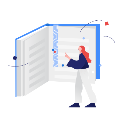 style Reading a book images in PNG and SVG | Icons8 Illustrations