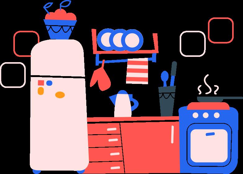 kingdom kitchen Clipart illustration in PNG, SVG