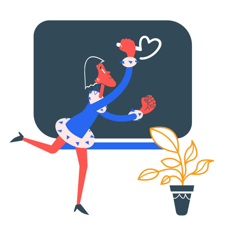 Drawing on a chalkboard Clipart illustration in PNG, SVG