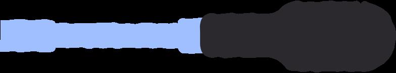 screwdriver Clipart illustration in PNG, SVG