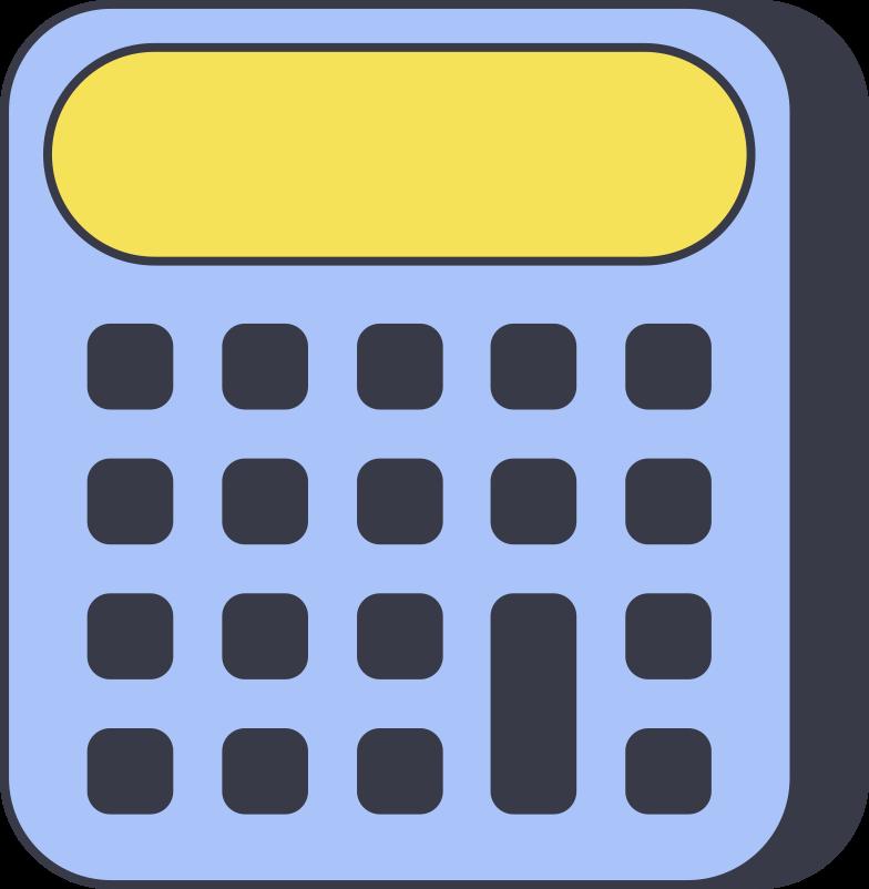 calculator Clipart-Grafik als PNG, SVG