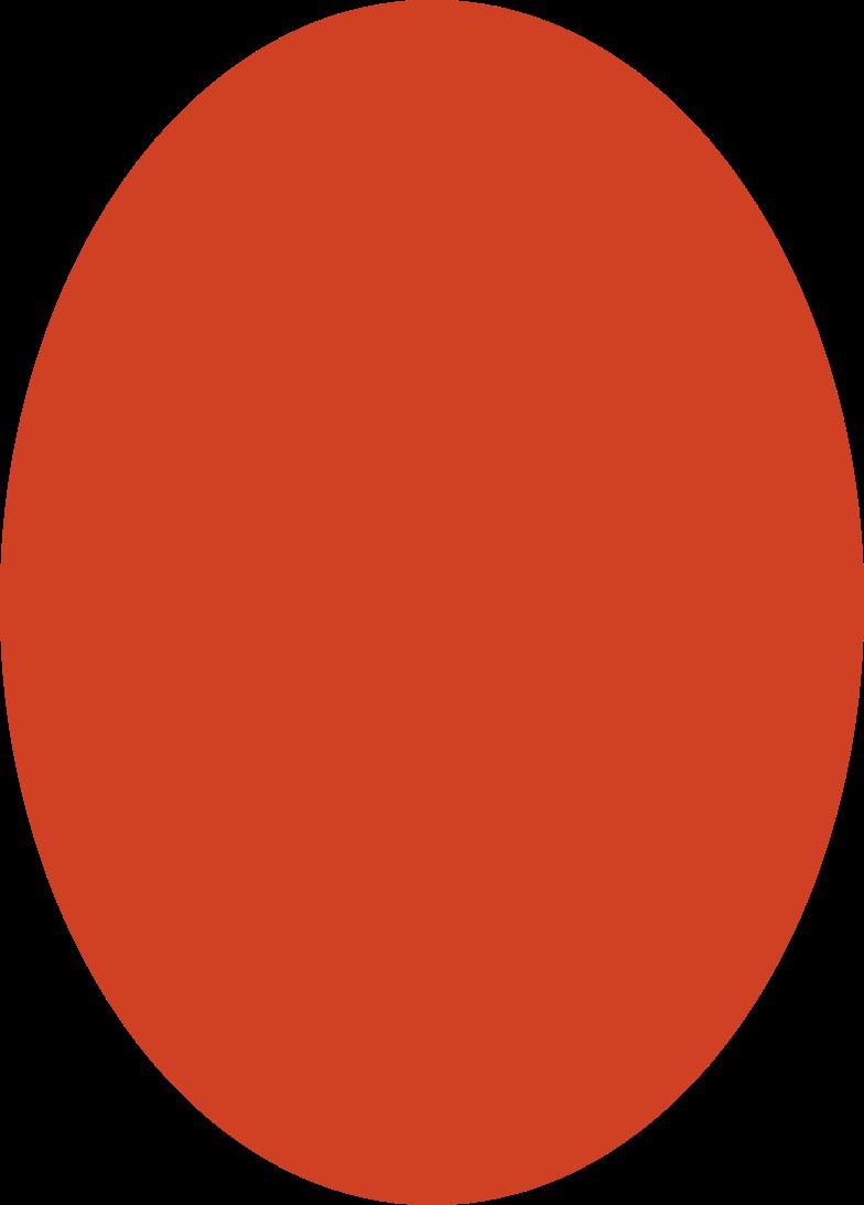 ellipse red Clipart illustration in PNG, SVG