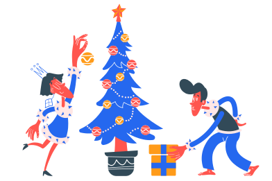 style Preparing for Christmas images in PNG and SVG | Icons8 Illustrations