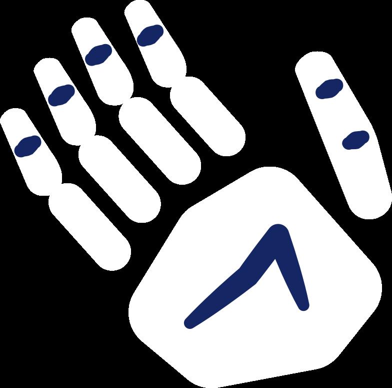 skeleton hand Clipart illustration in PNG, SVG