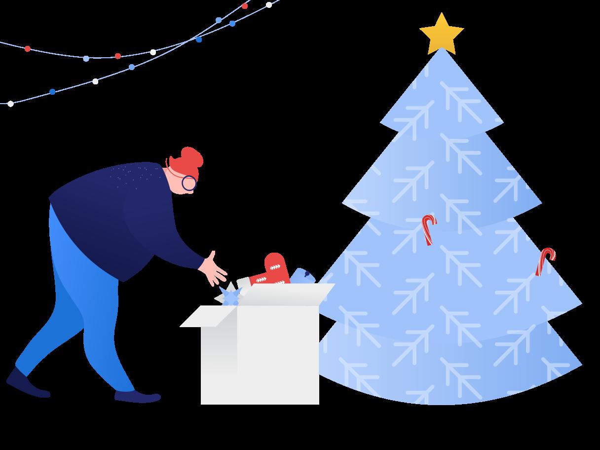 Decore a árvore Clipart illustration in PNG, SVG