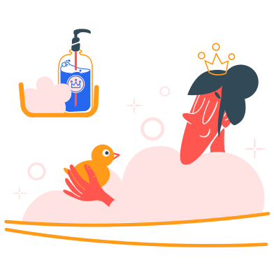 style Bath realaxation images in PNG and SVG | Icons8 Illustrations