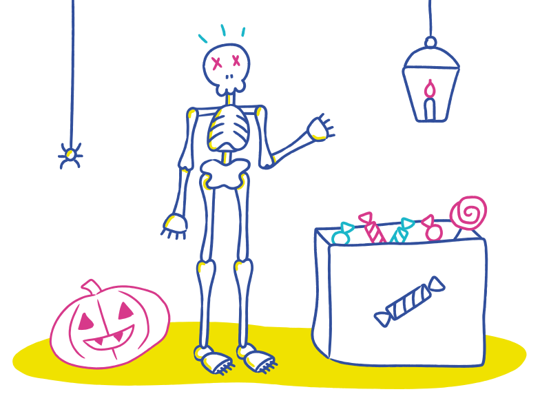 style Welcome to  the halloween party Vector images in PNG and SVG | Icons8 Illustrations