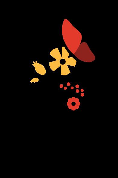 Иллюстрация Бабочка в стиле  в PNG и SVG | Icons8 Иллюстрации
