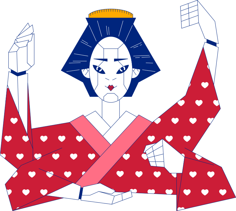 style geisha Vector images in PNG and SVG | Icons8 Illustrations